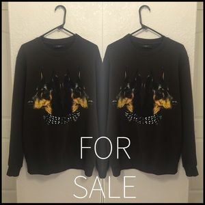 Givenchy Doberman sweater